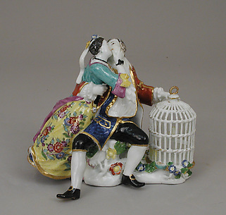Lovers with a Birdcage