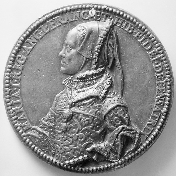 Mary Tudor, Queen of England (1516-1558, r. 1553, m. 1554), Commemorating her Marriage to Philip of Spain (1527-1598, r. 1556-98)