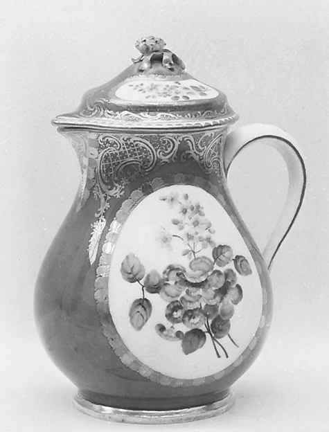 Hot milk jug (part of a service)