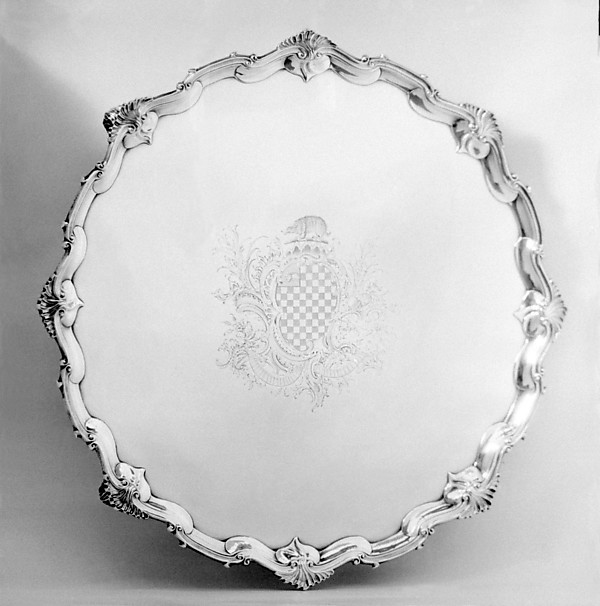This is What British London culture and Salver Looked Like  in 1767