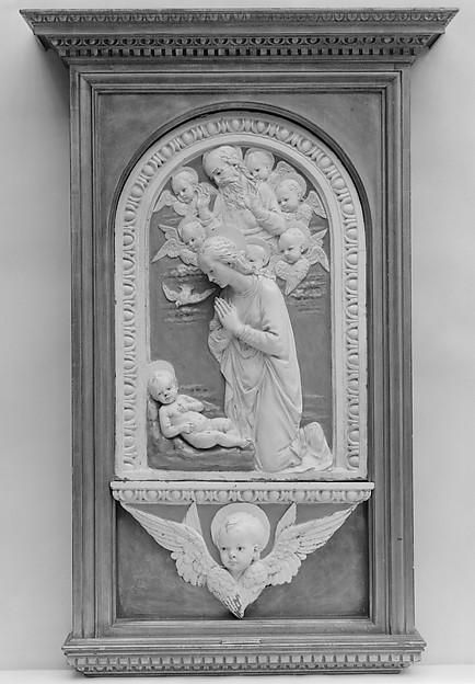 Virgin Adoring the Christ Child