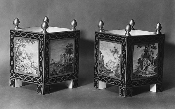 Flower pots (Caisses carrés)