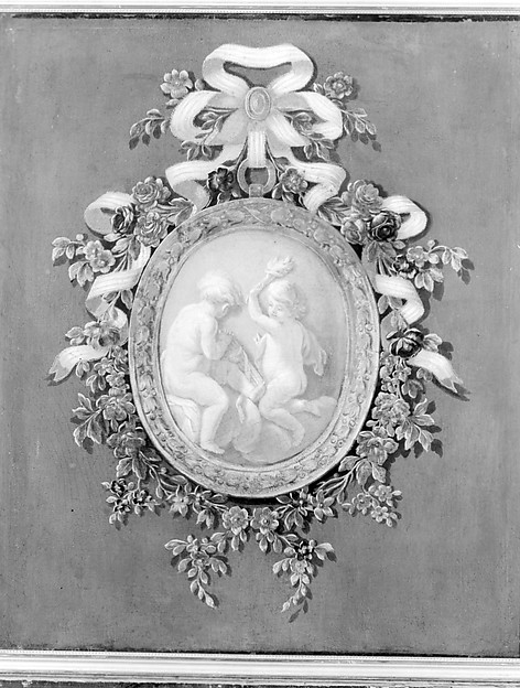 Putti in a Medallion