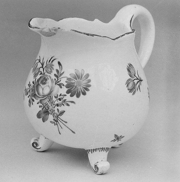 This is What German Frankenthal culture and Cream jug Looked Like  in 1779