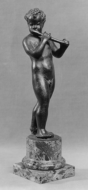 Putto with Flute