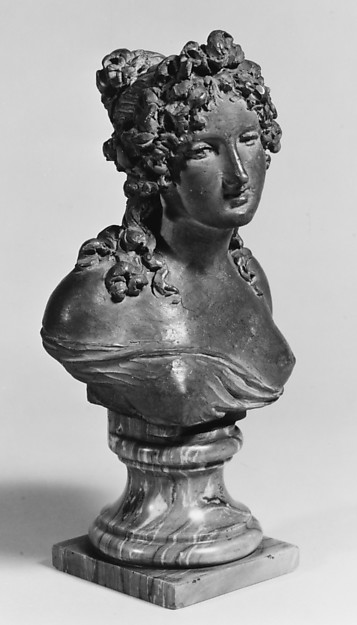 Bacchic nymph (one of a pair)