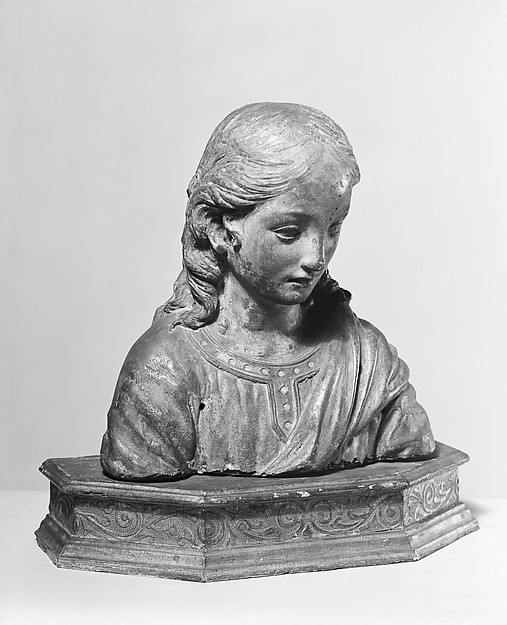Renaissance-style bust of the boy Christ
