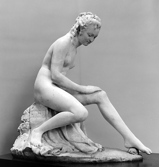 Bather (from a fountain group)