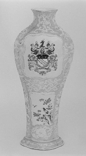 Vase (part of a garniture)