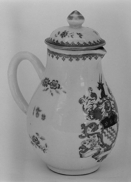 Jug with cover (part of a service)