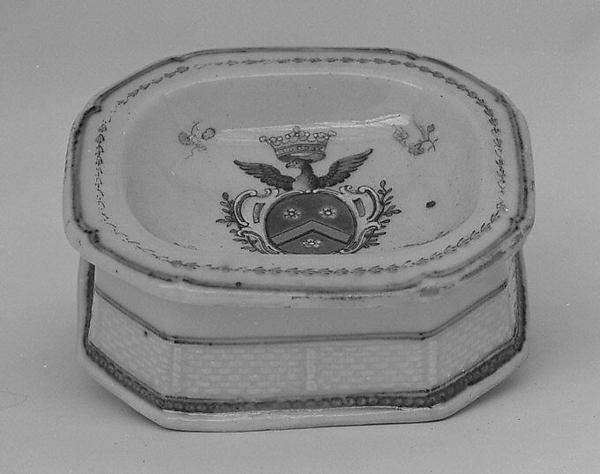 Salt dish (part of a service)