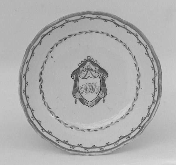 Saucer (part of a miniature service)