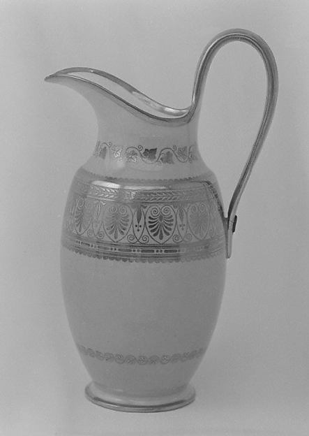 Milk jug (Pot à lait pestum) (part of a service)