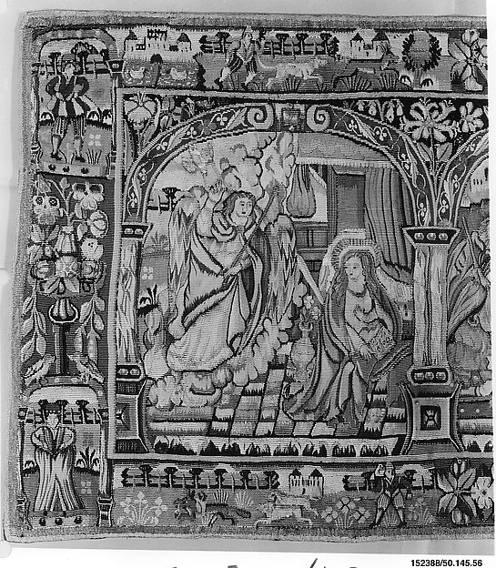 The Annunciation, Adoration of the Shepherds, and Adoration of the Kings