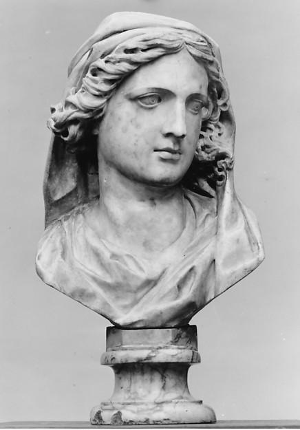 Head of the Virgin Annunciate