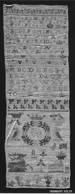 This is What German culture and Sampler Looked Like  in 1779
