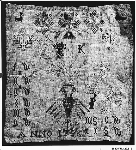 This is What Dutch culture and Sampler Looked Like  in 1776
