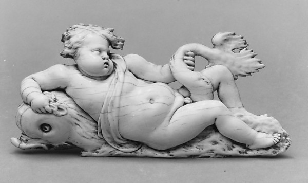 Putto on a Dolphin