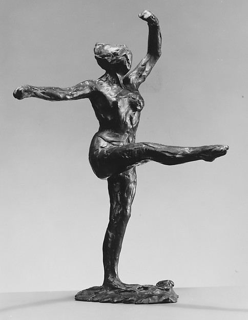 Dancer, Fourth Position Front, on the Left Leg (First State)