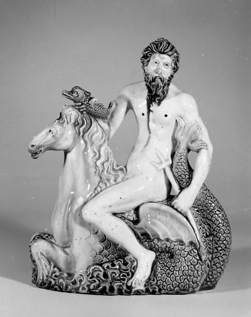 Neptune astride a hippocamp