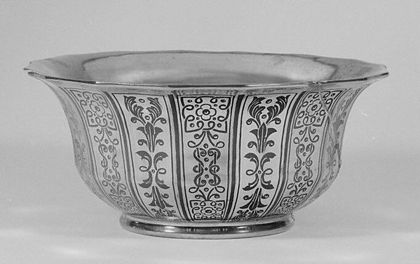 Bowl (part of a coffee and tea service)