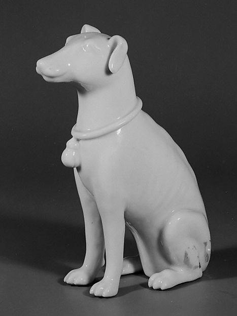 Seated hound
