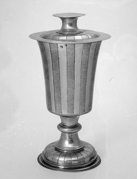 Communion cup and paten