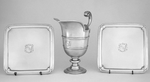 Ewer and tray set