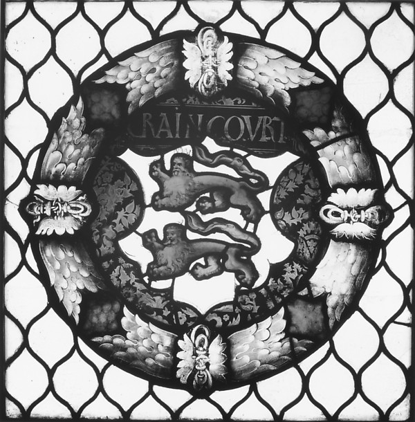 Fascinating Historical Picture of Valentin Bousch with The Craincourt Arms in 1533
