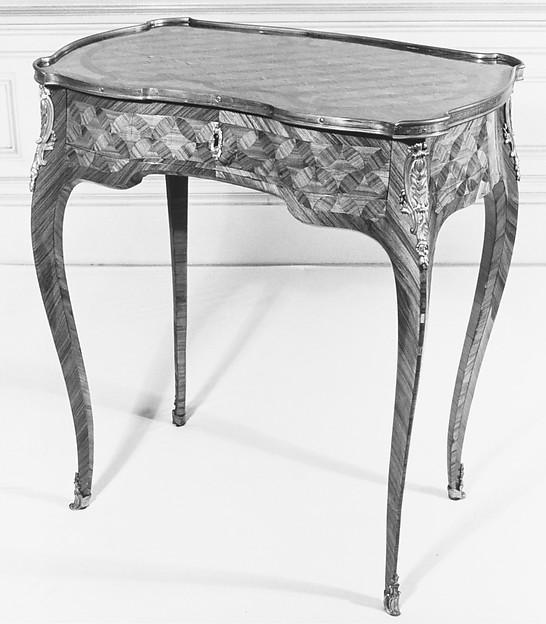 Oblong table