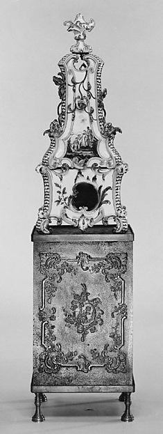 Fascinating Historical Picture of Abraham Leihamer with Ceramic stove on cast-iron firebox (one of a pair) in 1773