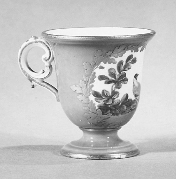 Ice cream cup (tasse à glace) (one of a pair) (part of a service)