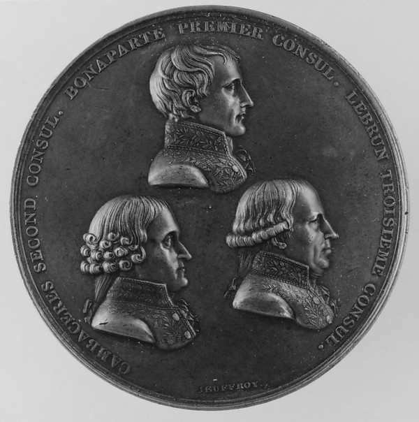 The Three Consuls: Napoleon, Cambacérès, Lebrun