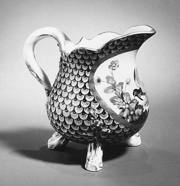 Milk jug (Pot à lait) (part of a service)