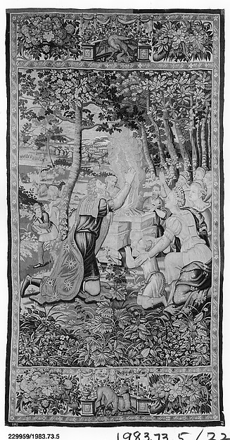 Jacob Sacrificing After Making a Covenant with Laban from The Story of Jacob series
