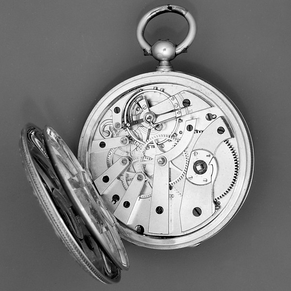 Watch with a portrait of Alexander II, czar of Russia (r. 1855–81)
