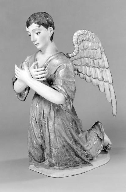 Kneeling angel (one of pair)