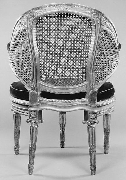Desk chair (fauteuil de cabinet)