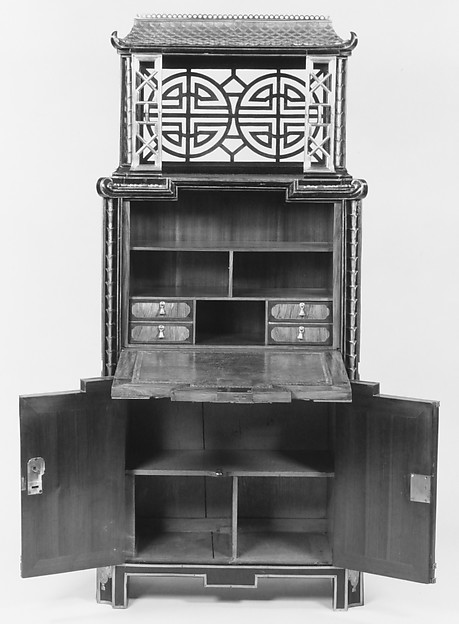 Drop-front secretaire
