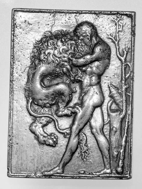 Hercules Strangling the Nemean Lion