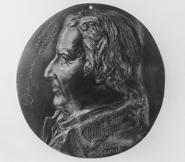 Portrait of Claude Dejoux (1732–1816)