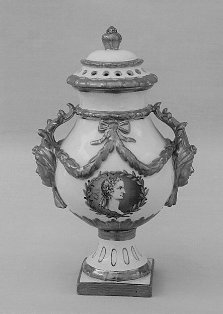 Vase (part of a garniture)