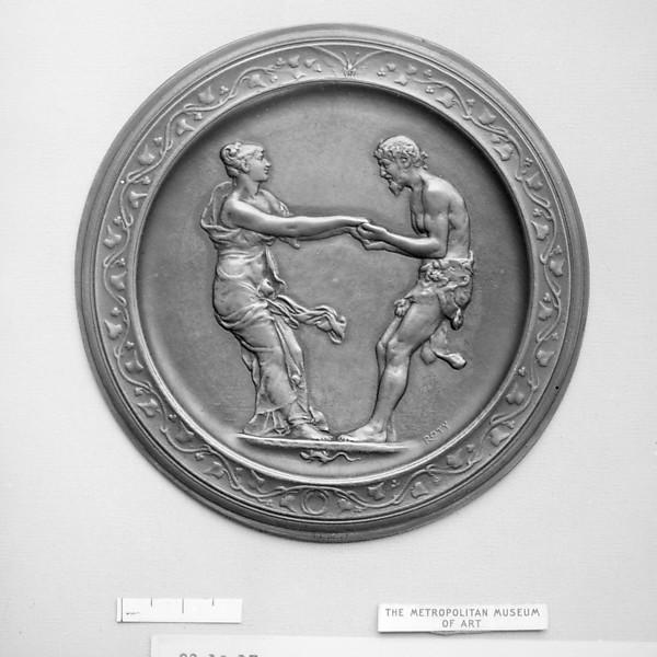 Nymph and Faun Dancing
