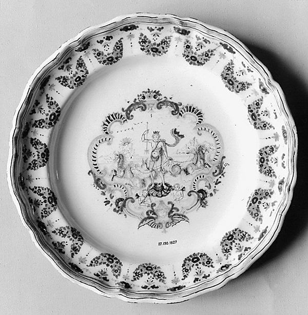 Plate or tray