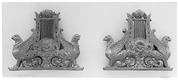 Pair of ornaments