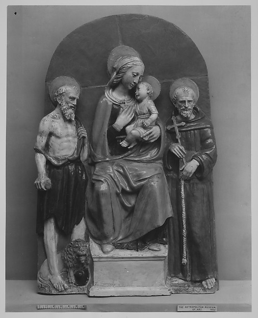 Virgin and Child with Saint Jerome and Saint Francis