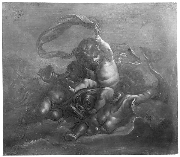 Cupids and Dolphins