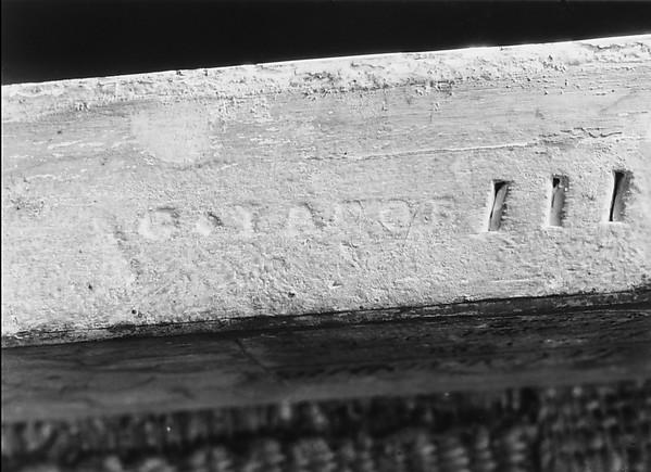 Armchair from Louis XVI's Salon des Jeux at Saint Cloud