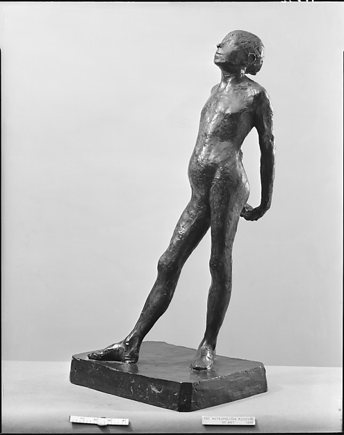 Study in the Nude for The Little Fourteen-Year-Old Dancer