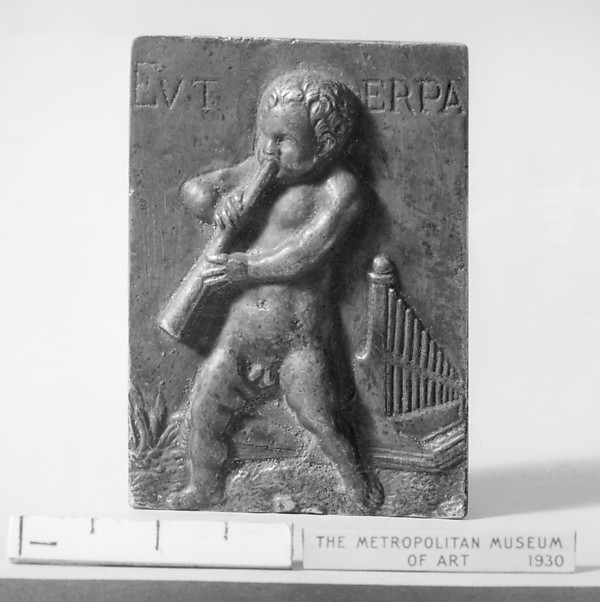 Putto with attributes of the Muse Euterpe